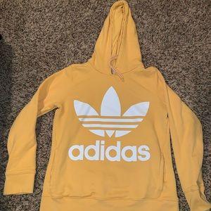 Yellow Adidas sweatshirt